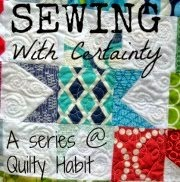 http://quiltyhabit.blogspot.ca/p/sewing-with-certainty-series