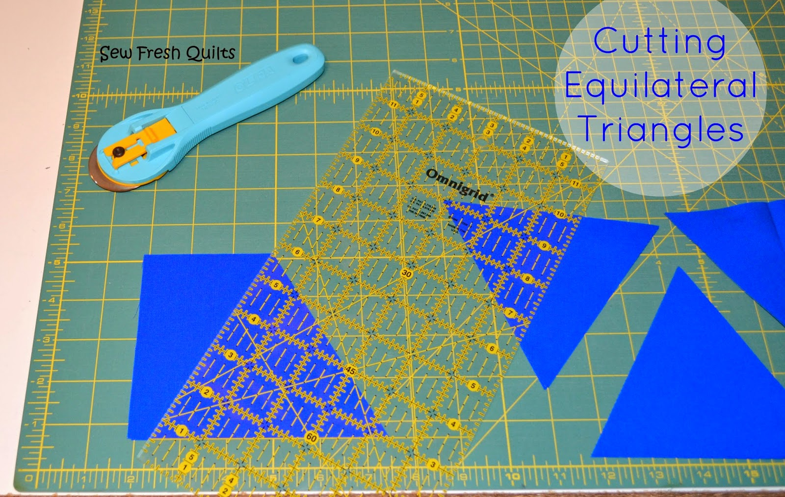 http://sewfreshquilts.blogspot.ca/2014/01/equilateral-triangle-quilt-tutorial