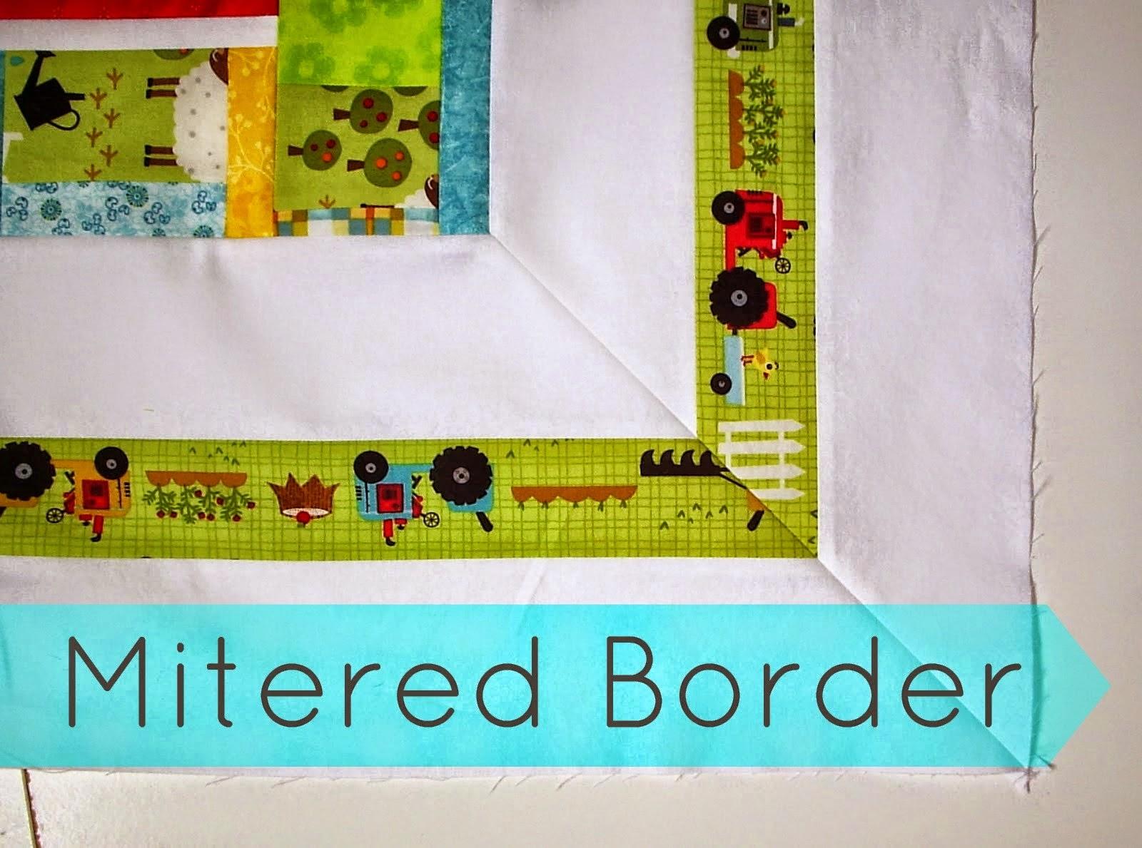 http://sewfreshquilts.blogspot.ca/2013/10/mitered-border-quilt-tutorial